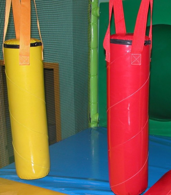 Punching bags or Biff Bash Bag Indoor Playsystem Components